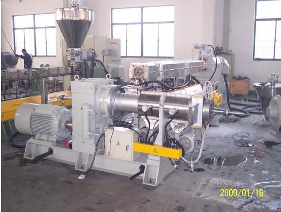 苏州客户的KP63-150 EVA阻燃生产线