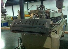 我司供给设备SHJ75系列生物降解片材挤出生产线